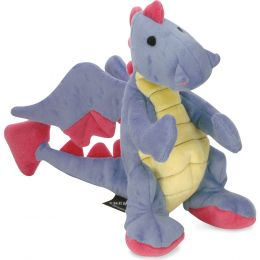 Quaker Pet Group Periwinkle Dragons Dog Toy Large