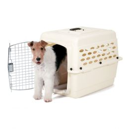 Petmate Bleached Linen Vari Kennel Pet Carrier 20-30 Lb