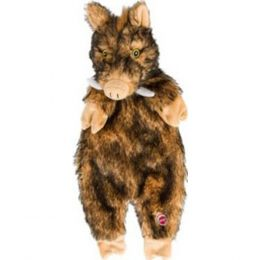 Ethical Brown Plush Furzz Boar 20in