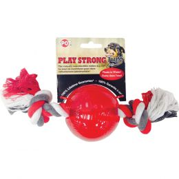 Ethical Red Play Strong Tugs Ball With Rope Large